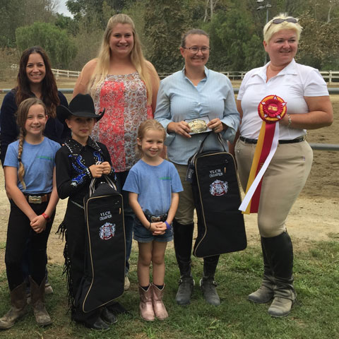 Group of our English riding winners